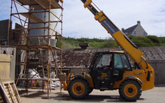 Telescopic Forklift Training Dumfries and Galloway